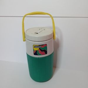 Colman vtg 80s 90s camping water bottle
